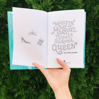 Book Review: Martin McLean, Middle School Queen by Alyssa Zaczek