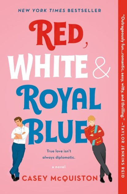 book cover royal blue